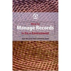 Click to enlarge cover of Manage records in E-Environment