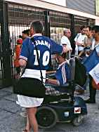 Zidane shirts everywhere (Stade de France, 12th July)
